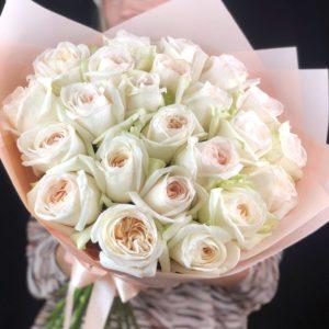 Букет из пионовидных роз Art.80 065