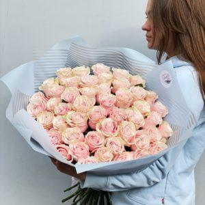 Букет из 51 розы art. 12-039