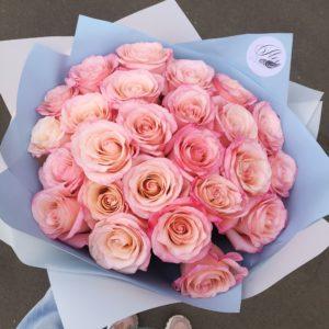 Букет из розовых роз Art.80 65