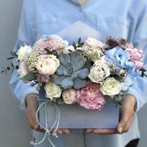 Корзина цветов Art.02 17