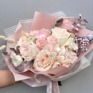 Сборный букет из роз art.14-07
