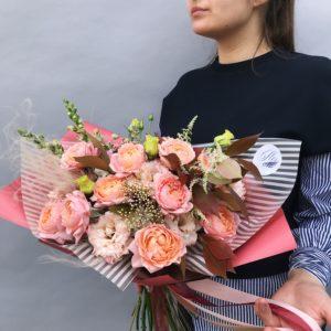 Букет из пионовидных роз Art.01 01