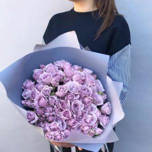 Букет из пионовидных роз art.01-09